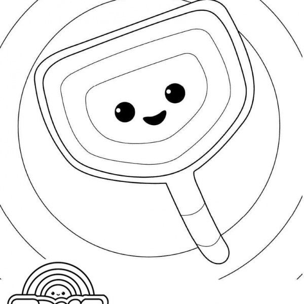 true and the rainbow kingdom coloring pages roper roo in