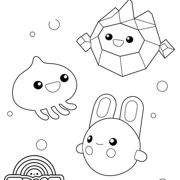 true and the rainbow kingdom coloring pages true and