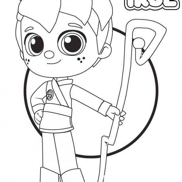 zee from true and the rainbow kingdom coloring pages con
