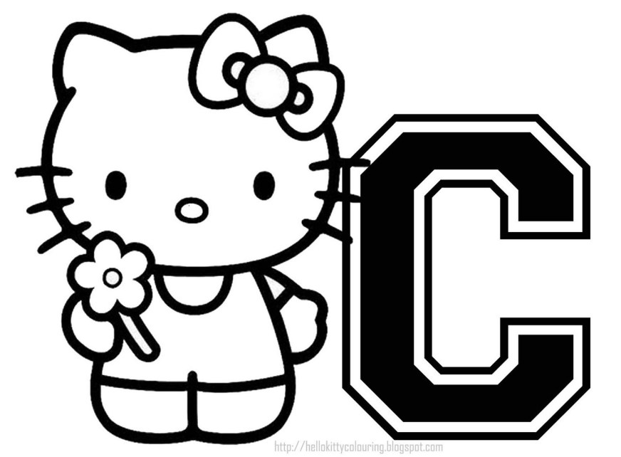 hello kitty halloween coloring page coloring home