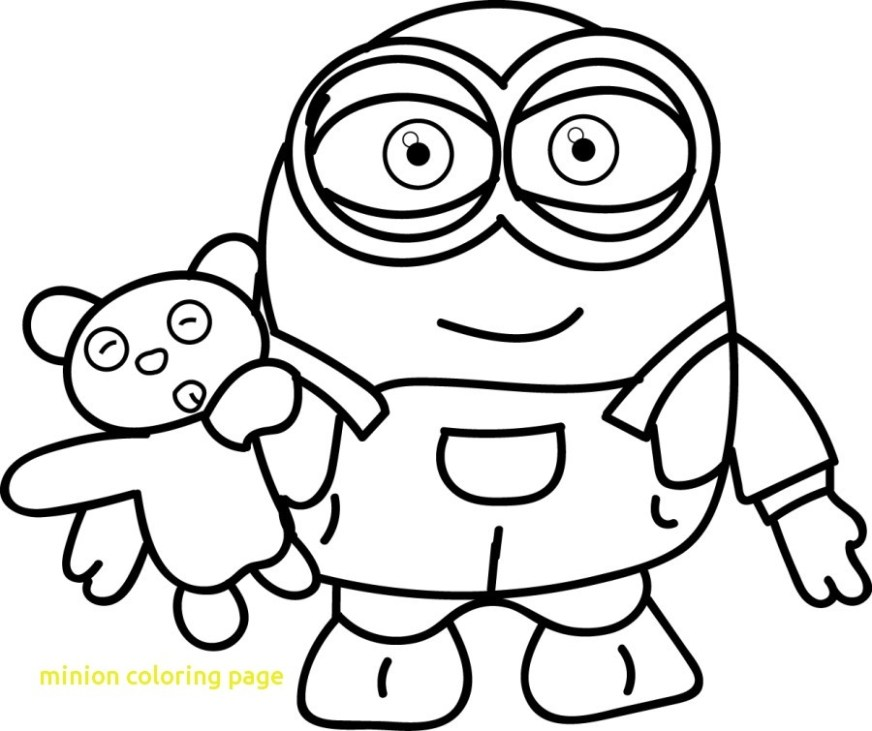 minions drawing for kids at getdrawings free download