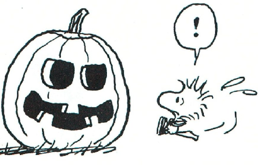 snoopy halloween halloween coloring pages halloween