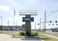 Pylon sign with electronic message center. Texarkana, AR