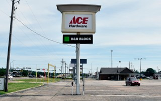 ACE Hardware Pylon Sign. New Boston, TX