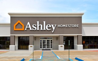 Ashley Homestore Building Sign. Monroe, LA