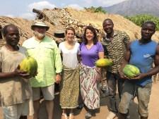 Papayas at Colton's land in the Rukwa