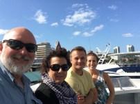 On the ferry to Zanzibar