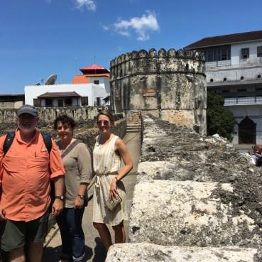 On the old fort in Zanzibar