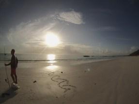 Early morning sun, Paje, Zanzibar