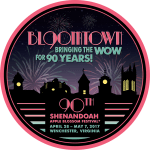 90th Shenandoah Apple Blossom Festival theme logo