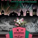 90th Shenandoah Apple Blossom Festival theme program cover