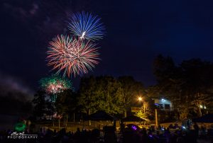 Lake Holiday Fireworks by Erik Michael Photography