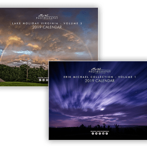 2019 Calendars - Lake Holiday and Erik Michael Collection