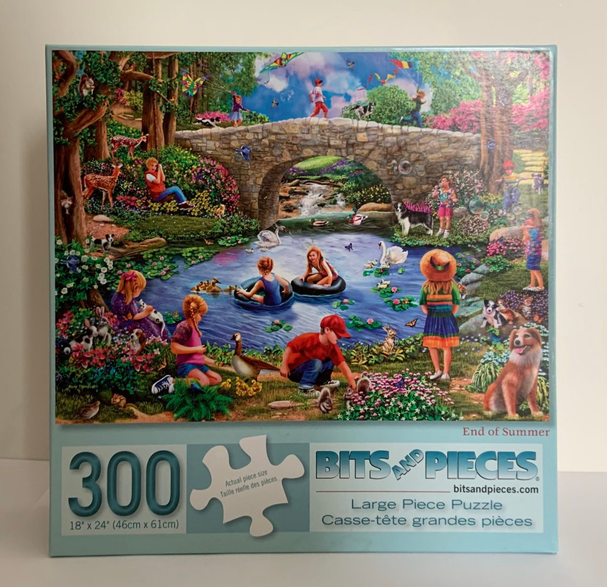 Puzzle (300 Piece); End of Summer