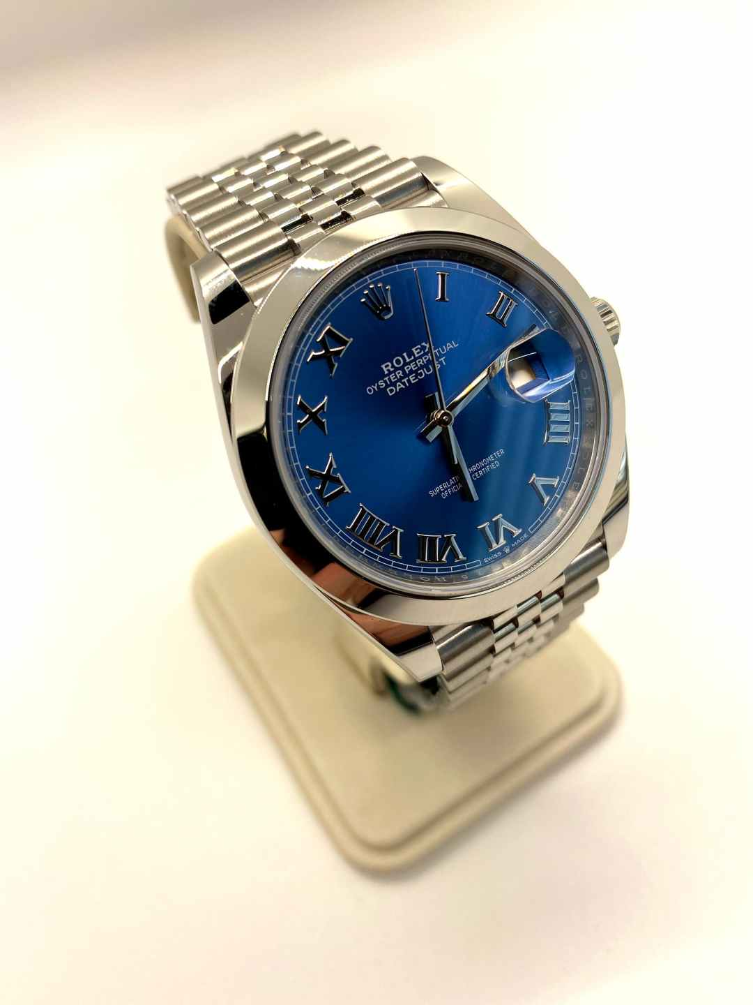 New Datejust 41mm Men's Rolex Watch with Box and Papers