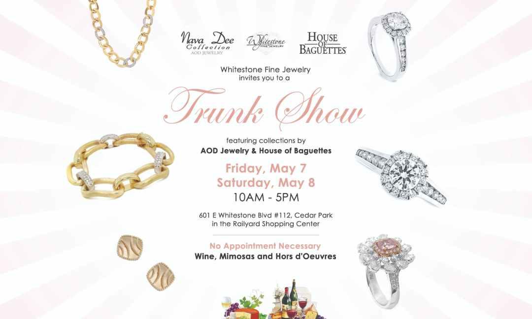 Jewelry Trunk Show Cedar Park, Austin TX