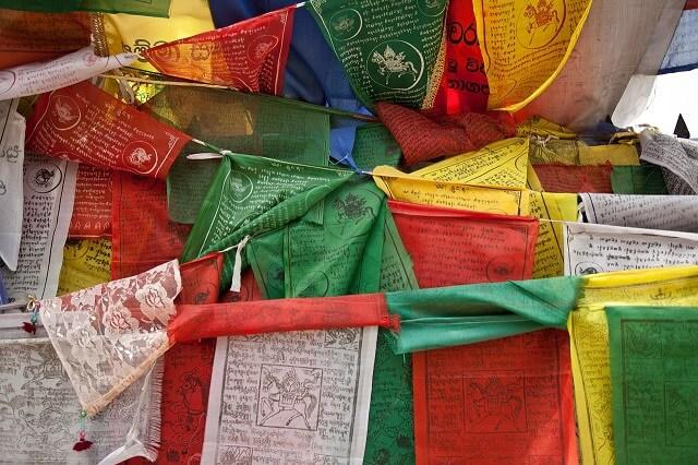チベット五大色