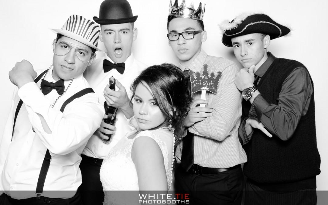 white tie photo booths