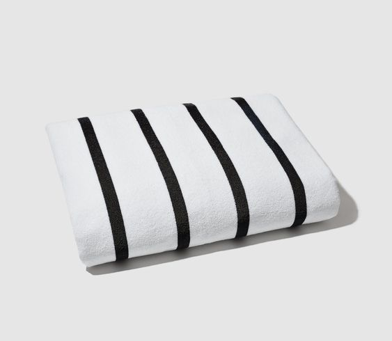 white beach towels