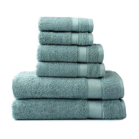 towels section of bed bath and beyond