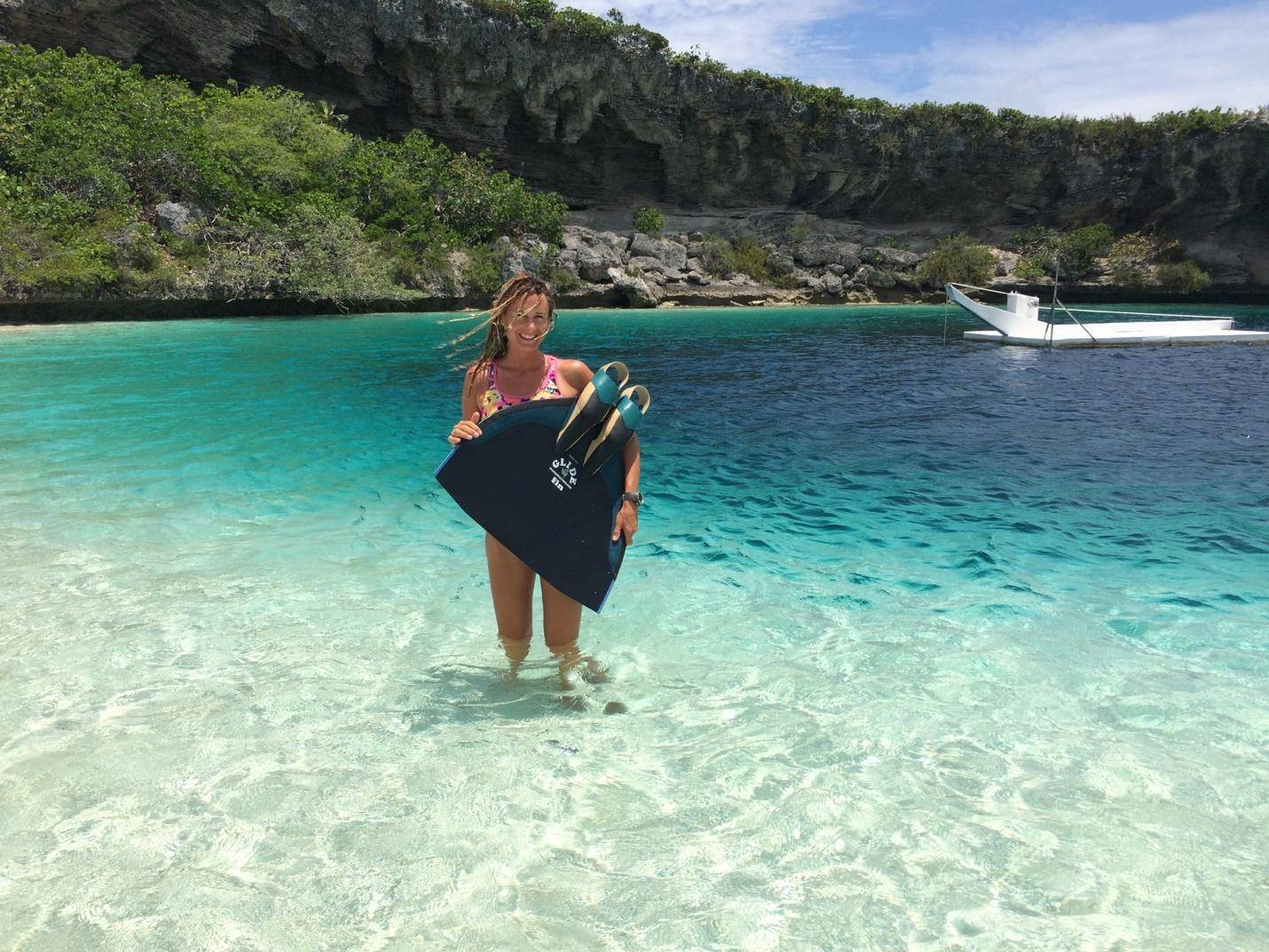 freediving off turks and
