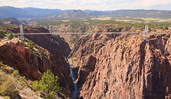 Geology of the Royal Gorge.