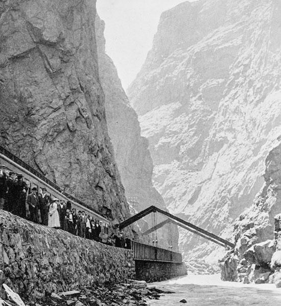 Royal Gorge History.