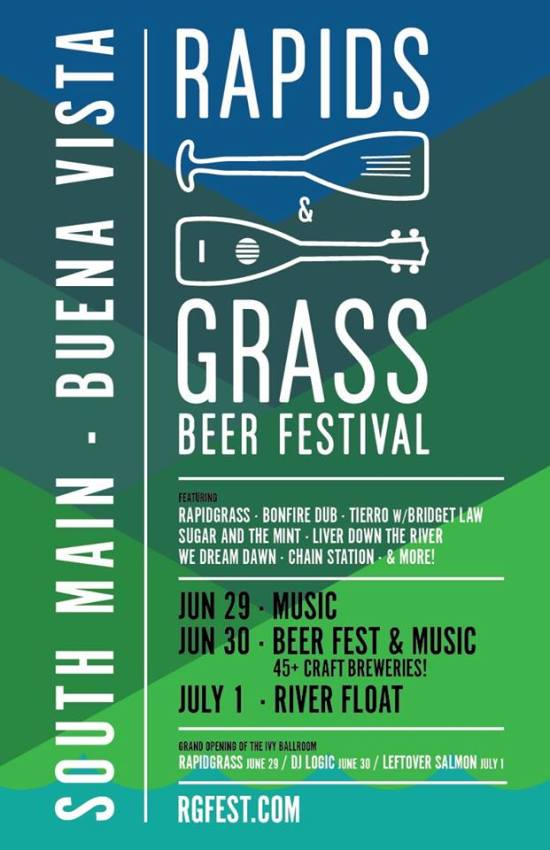 Rapids & Grass Beer Festival @ South Main Square  | Buena Vista | Colorado | United States