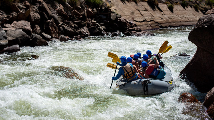 Raft the Royal Gorge in Colorado.