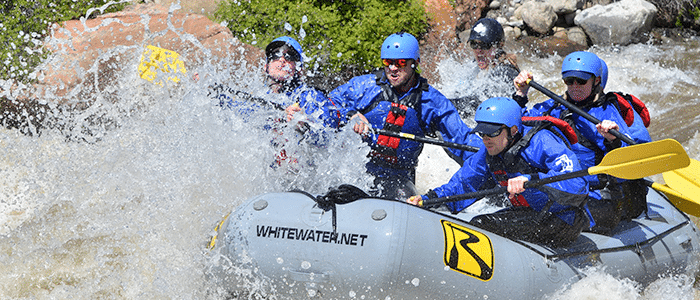 Numbers whitewater rafting trips.