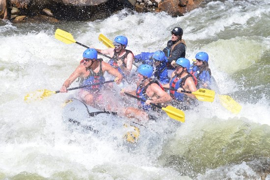 Buena Vista, Colorado whitewater rafting