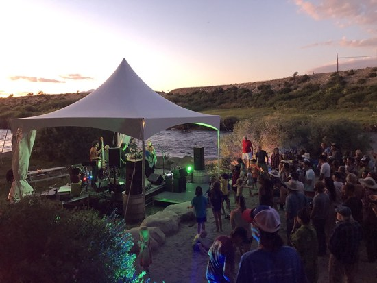 Tierro Band - Live at River Runners - Silent Disco @ River Runners Browns Canyon