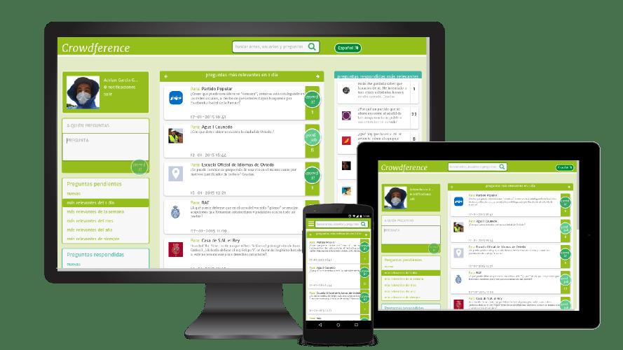 Página Web Crowdference