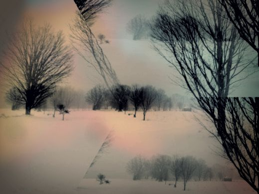 blind as the snow that binds me