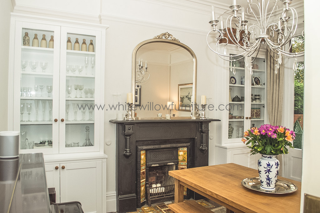 Alcove Shelves Dining Room