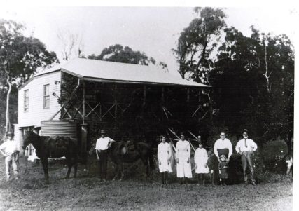 Drinkwater family home 1916