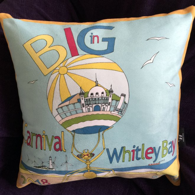 Whitley Bay Carnival 2018 Cushion