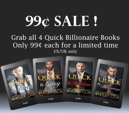Quick billionaires 99cent sale