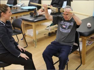 PROGRESSIVE DISEASE: Bruce Waugh, who died of Parkinson's last year, used physical therapy to improve his quality of life in the 10 years he lived with the disease.  Courtesy photo, David Waugh