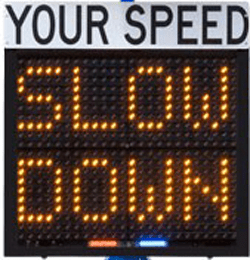 Whitman reviews portable speed radar