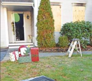 Hanson family displaced by fire