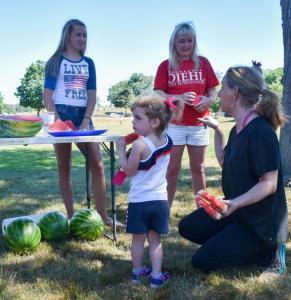 Hannah Huska watermelon july2