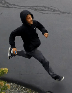 Police have released photos two people begin sought in connection with the Sept. 29 from the Hanson home invasion. Anyone with information on the identity of the individual is asked to call Hanson Police at 781-293-4625.