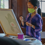 Paint class offers vacation diversion at Camp Kiwanee