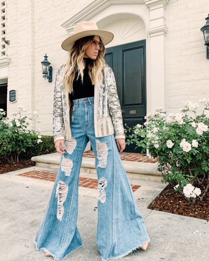 How to Wear Sequins this Holiday Season | Whitneybearr