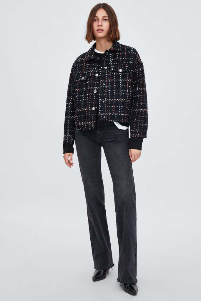 ZARA - TWEED JACKET