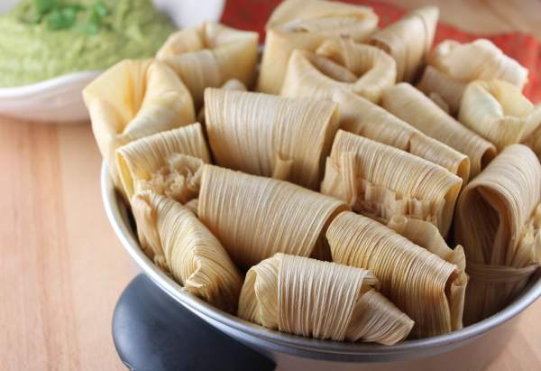Steamed Tamales