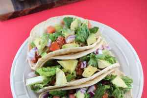 Spicy Ground Beef Tacos