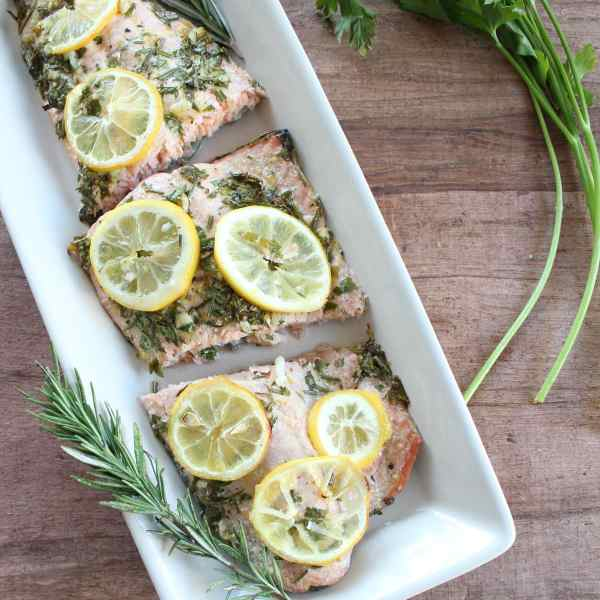 Lemon Herb Salmon Recipe