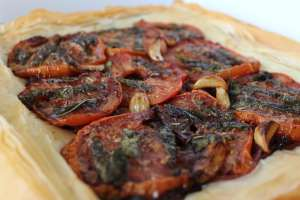 Roasted Vegetable Vegan Pizza